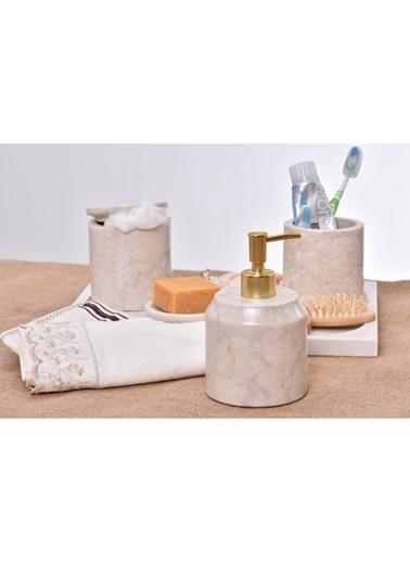 Gaya Stone Sıvı Sabunluk Bej